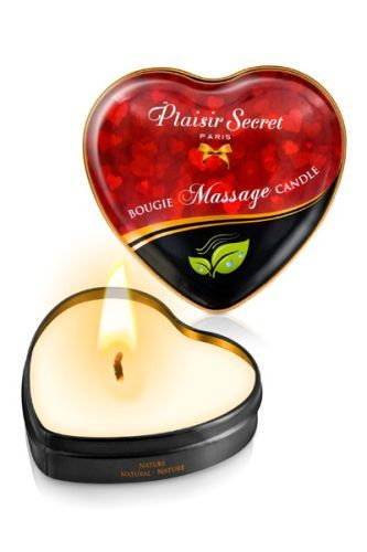 Массажная свеча с нейтральным ароматом Bougie Massage Candle - 35 мл.